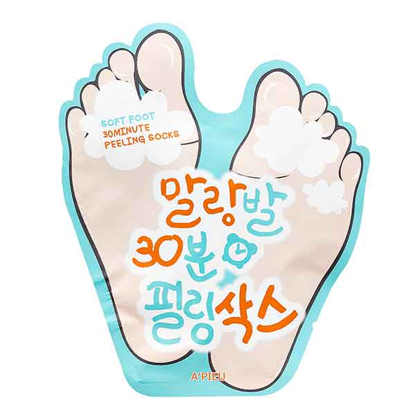 A´PIEU Soft Foot 30 minutes peeling socks