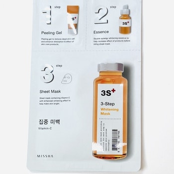 MISSHA  3-step Whitening Mask - Vitamin C