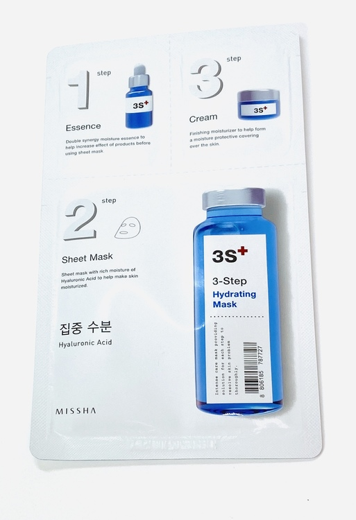 MISSHA 3-step Hydrating Mask