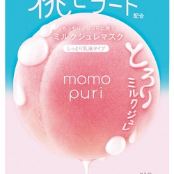 Momopuri Milk Jelly Sheet Mask 4-pack