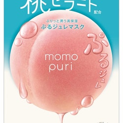 Momopuri Jelly Sheet Mask 4-pack