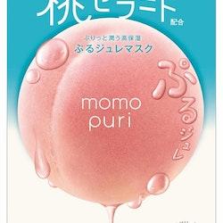 Momopuri Jelly Sheet Mask 4-pack