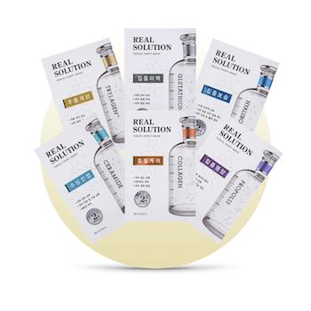 Hudvårdsset Vitaminmix x6 Ansiktsmasker