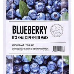 Dermal Its Real Superfood Sheet Mask Blueberry