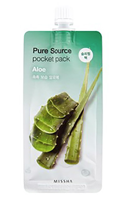 MISSHA Pure Source Pocket Pack Sleeping Mask - Aloe