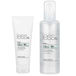 Holika Holika Less On Skin Set Toner+Cream