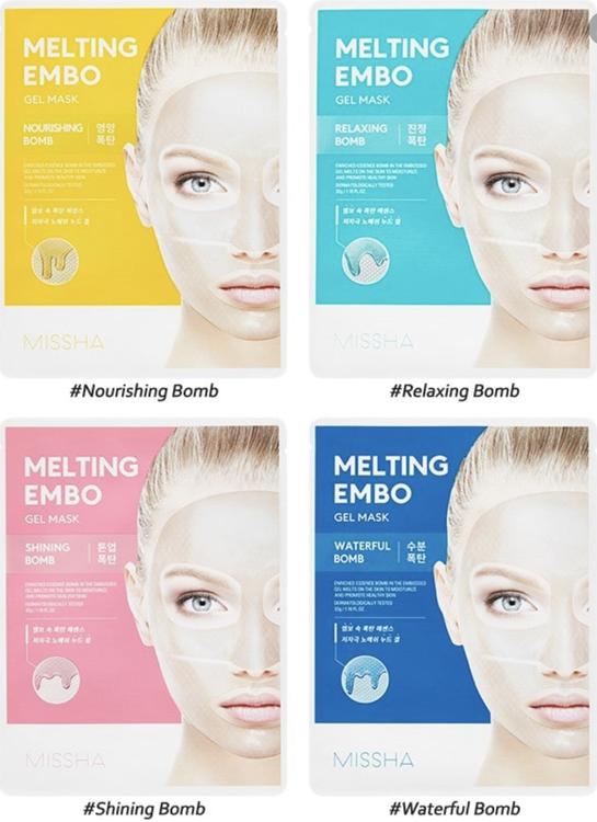 MISSHA Melting Embo Gel Mask Relaxing Bomb