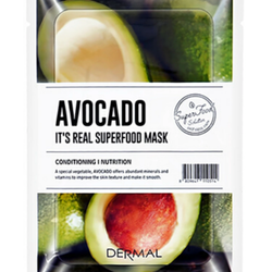 Dermal Its Real Superfood Sheet Mask Avocado