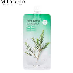 MISSHA Pure Source Pocket Pack Sleeping Mask - Tea Tree