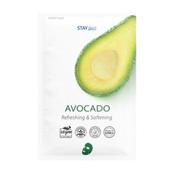 STAY Well Vegan Sheet Mask Avocado