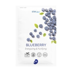 STAY Well Vegan Sheet Mask Blueberry