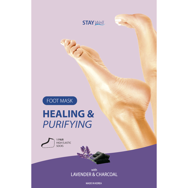 STAY Well Healing & Purifying Foot Mask