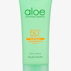 Holika Holika Aloe Soothing Essence Waterproof Sun Gel SPF50+
