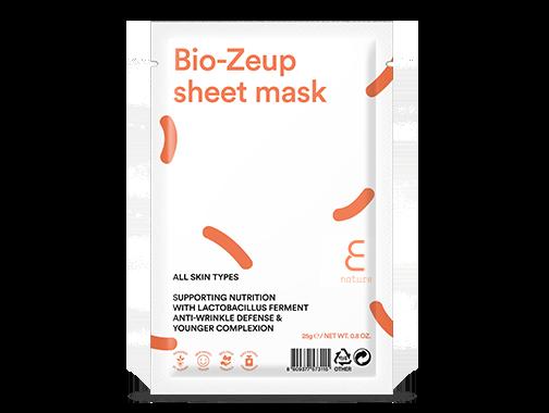 Ansiksmask - E NATURE Bio-Zeup sheet mask