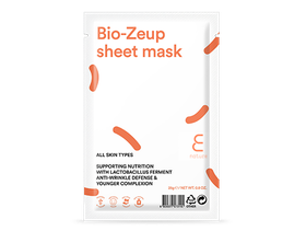 Ansiksmask - E NATURE Bio-Zeup sheet mask