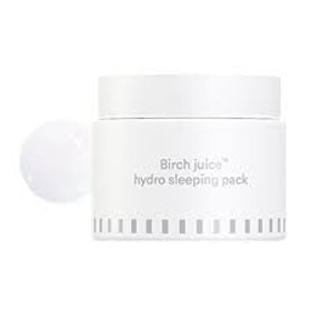Ansiktskräm- E NATURE Birch Juice hydro Sleeping Pack