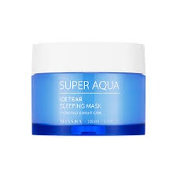 Ansiktskräm/Sovmask - Super Aqua Ice Tear Sleeping Mask