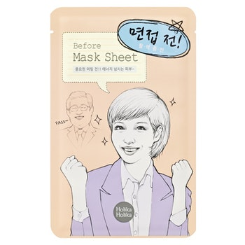 """Before Interview"" Sheet Mask"