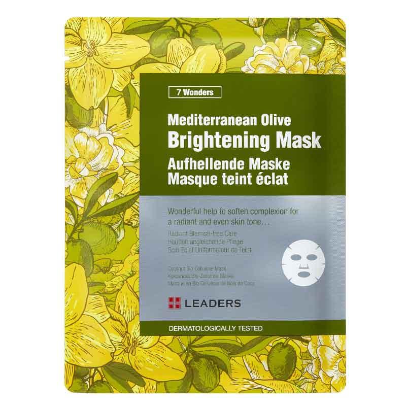 Ansiktsmask -  Leaders Mediterranean Olive Brightening Mask