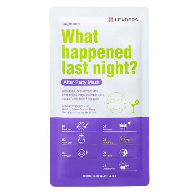 Ansiktsmask -  Leaders What Happened Last Night? Sheet Mask