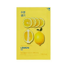 Ansiktsmask - Holika-Holika Pure Essence Mask Sheet  Lemon