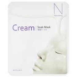 Ansiktsmask - MISSHA Cream-Soak Mask [Nourishing]