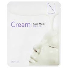 MISSHA Cream-Soak Mask [Nourishing]