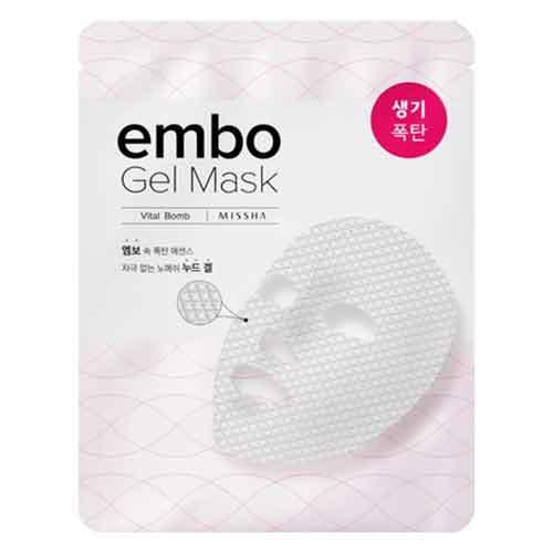 Ansiktsmask - MISSHA Embo Gel Mask Vital Bomb