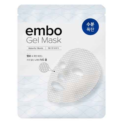 Ansiktsmask - MISSHA Embo Gel Mask Waterful Bomb