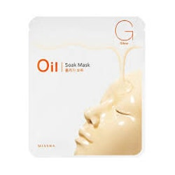 Ansiktsmask - MISSHA Oil-Soak Mask [Glow]