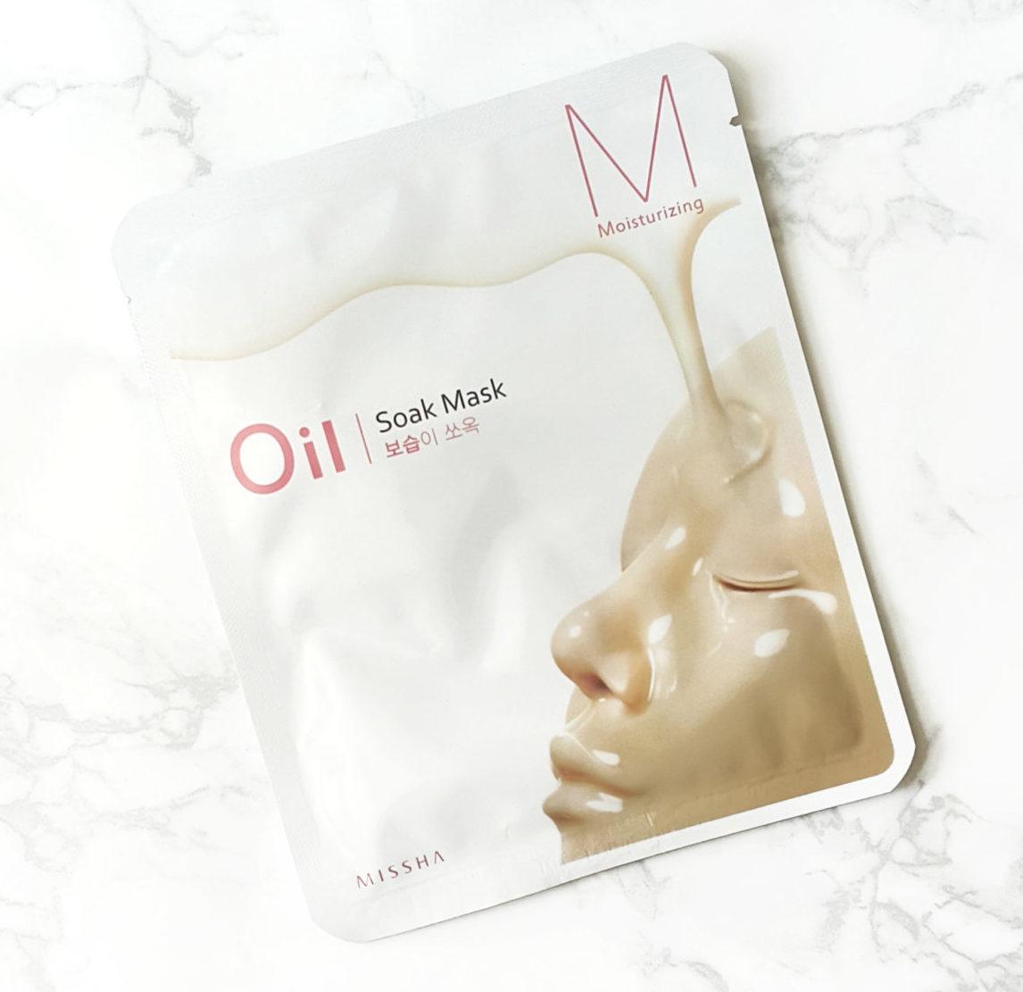 Ansiktsmask - MISSHA Oil-Soak Mask [Moisturizing]