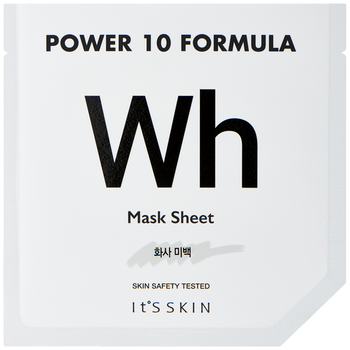 Power 10 Formula WH Sheet Mask