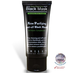 Ansiktsmask - SHILLS Purifying Peel-off Black Mask