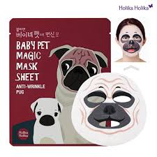 Ansiktsmask: Ansiktsmask -Baby pet Magic Mask Pug