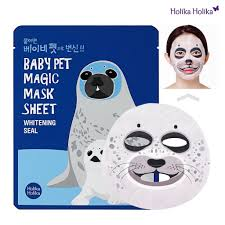 Ansiktsmask: Holika Holika Baby Pet Magic Mask Sheet (Seal)