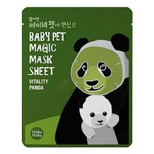 Ansiktsmask: Holika Holika Baby Pet Magic Mask Sheet (Panda)