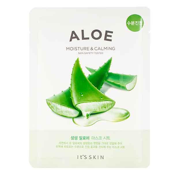 Ansiktsmask: IT ́S Skin Aloe Moisture & Calming