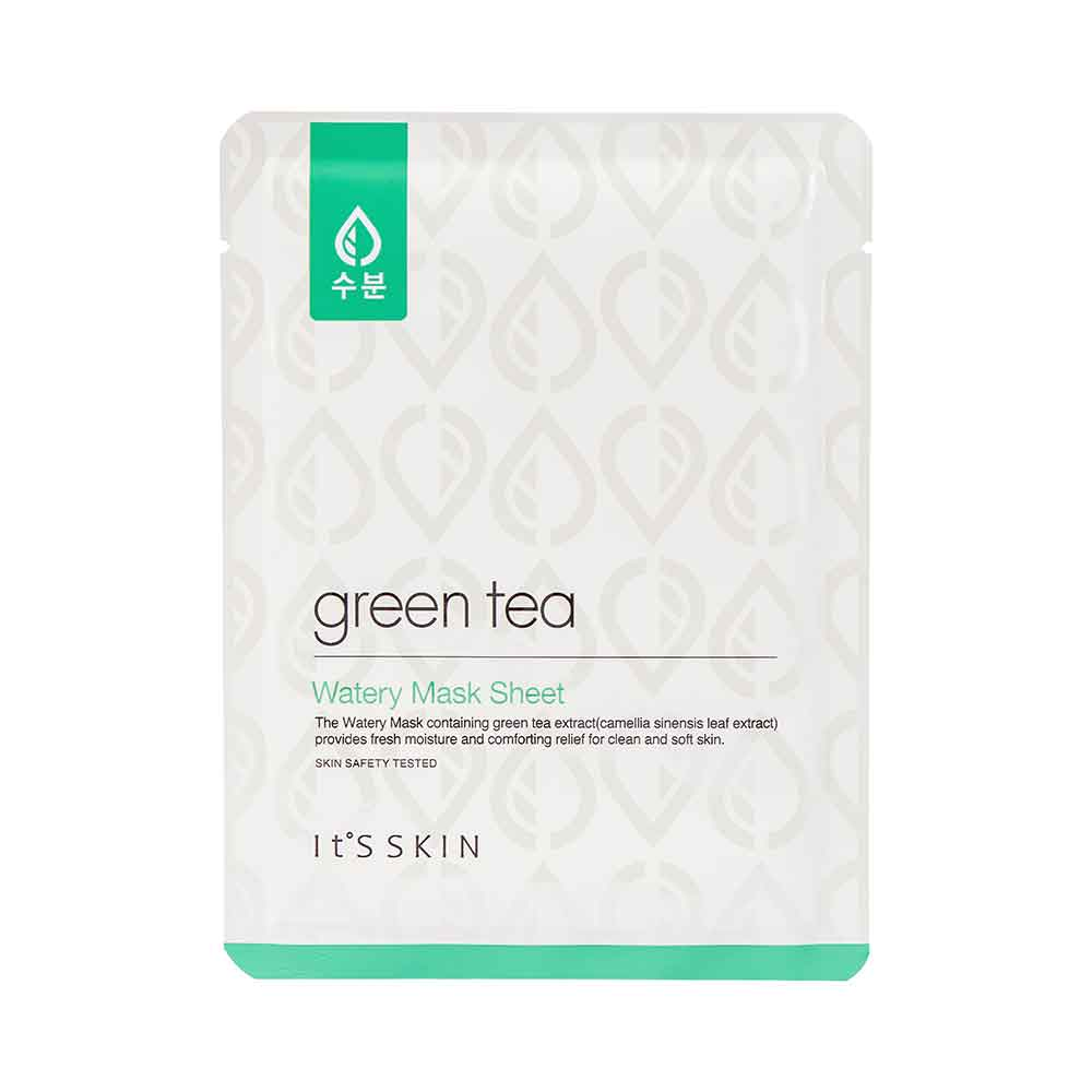 Ansiktsmask: It ́s Skin Green Tea Mask Sheet