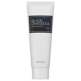 Ansiktsmask: MISSHA Black Ghassoul Peel Off Nose Pack (pormask)