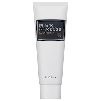 MISSHA Black Ghassoul Peel Off Nose Pack (pormask)