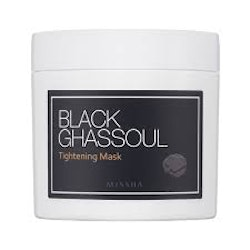 MISSHA Black Ghassoul Tightening Mask