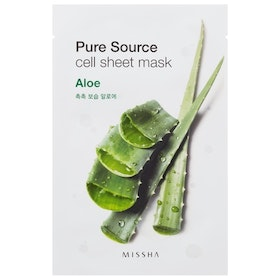 Ansiktsmask: MISSHA Pure Source Cell Sheet Mask Aloe