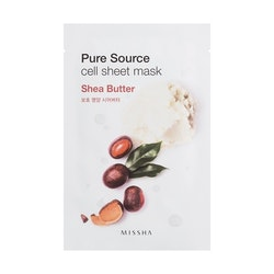 MISSHA Pure Source Cell Sheet Mask Shea Butter