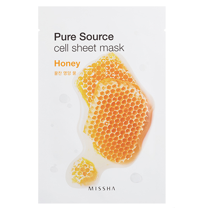 Ansiktsmask: MISSHA Pure Source Sheet Mask Honey