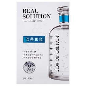 Ansiktsmask: Missha Real Solution Tencel Sheet Mask (Intensive Moisturizing - Hyaluronic Acid)