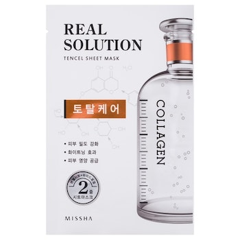 Missha Real Solution Tencel Sheet Mask (Total Care - Collagen)
