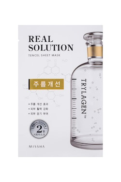 Ansiktsmask: Missha Real Solution Tencel Sheet Mask (Wrinkle care - Trylagen)