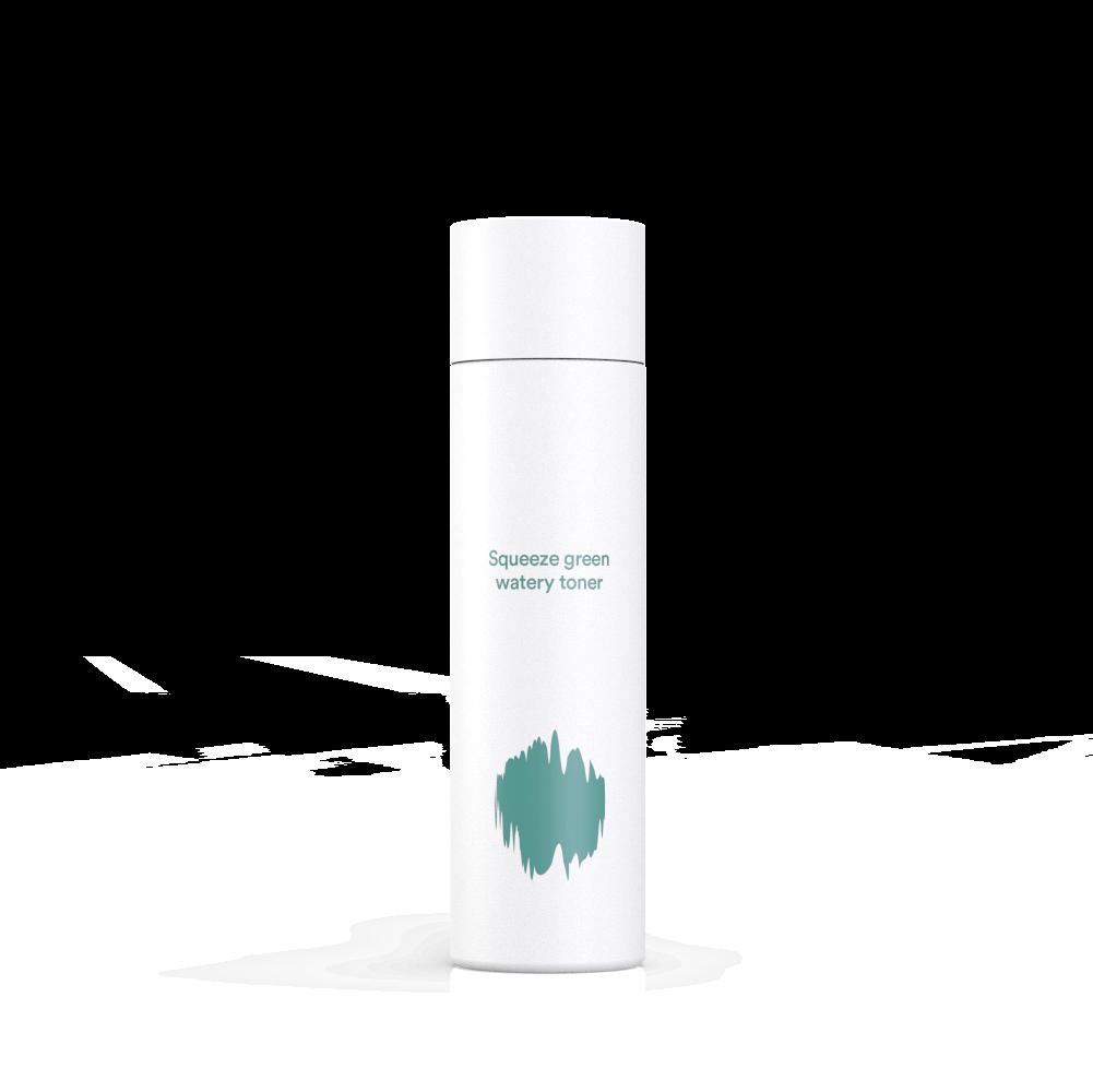 Ansiktsvatten - E NATURE Squeeze Green Watery Toner