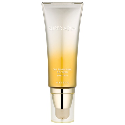 BB cream: MISSHA Super Aqua Cell Renew Snail BB Cream