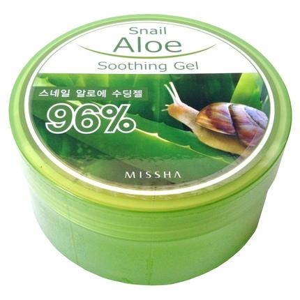 Gel: MISSHA Snail Aloe Soothing Gel